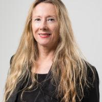 Studio portrait of Dr Fiona Cameron, MAAS Research Fellow.